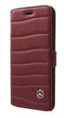 Чехол для iPhone 7 Plus Mercedes Bow I Booktype Leather Red (MEFLBKP7LGCLRE)
