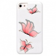 Чехол для iPhone 6/6S iCover HP Pure Butterfly White/Pink (IP6/4.7-HP/W-PB/P)