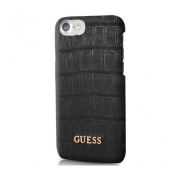Чехол для iPhone 7 Guess Croco Hard PU Black (GUHCP7MCOBK)