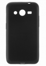 Чехол для Samsung Galaxy Core 2 (G355H) iCover Rubber black