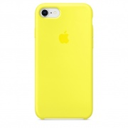 Чехол для iPhone 5/5S/5SE Silicone Case желтый