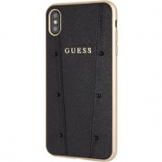 Чехол для iPhone XS Max Guess KAIA Hard Case черный
